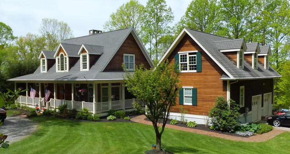 Custom homes nj hunterdon county for Custom country home plans
